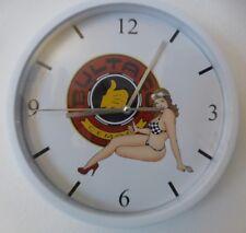 BULTACO PIN UP  pendule murale horloge 20cm SHERPA MATADOR PURSANG ALPINA LOBITO