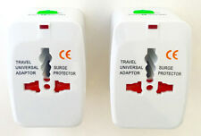 All in one international Travel Power Charger Universal Adapter Plug 2 PACK B18