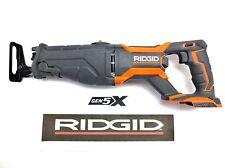 RIDGID 18v 18 VOLT GEN5X LITHIUM CORDLESS RECIPROCATING SAWZALL SAWSALL R8642