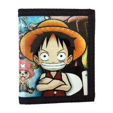 One Piece PU Leather Wallet / Straw Hat Pirates, Monkey D. Luffy (ONP-B5C)