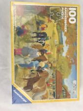 Ravensburger Puzzle 100 Pieces 1992  - Pony Farm Design By Katrin  Lindley