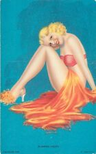 "MUTOSCOPE PINUP - ""FLAMING YOUTH"" - BILLY DEVORSS - GG - ARCADE CARD"