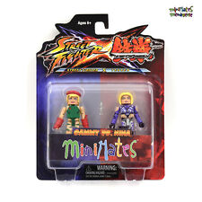 Street Fighter X Tekken Minimates Series 1 Cammy vs Nina