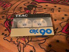 TEAC CRC 90. Metal reel audio cassette blank tape Japan