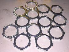 (52 PIECE LOT) HUBBELL 00322002LPK50  Locknut, Steel, Zinc, 3/4-14, 2.8 mm