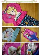 NICE NEW FROZEN PRINCESS GIRL BUNDLE CLOTHES tops pyjamas leggins 3/4yrs nrC