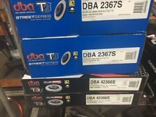 DBA T3 SLOTTED FRONT& REAR ROTORS RENAULT MEGANE RS265 X95 2.0L F4R.874