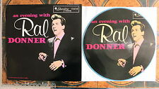 RAL DONNER ‎– An Evening with RD LP picture disc & blue wax Star Fire - SLP-1004