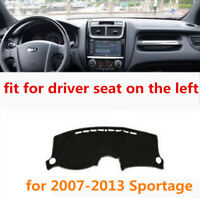 Non-slip Dashboard Mat, Dash Mat Cover Sun Shade For Kia Sportage for 2007-2013