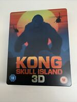 Kong Skull Island 3D Blu Ray Steelbook Limited Edition Collectable | Free P&P ✔️