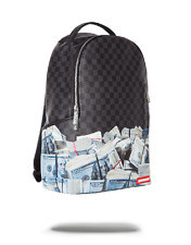 SPRAYGROUND OFFSHORE ACCOUNT MONEY BENJAMINS CASH URBAN BACKPACK  LAPTOP