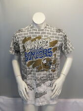 Winnipeg Blue Bombers Shirt (VTG) - Everwhere print Graffiti Graphic - Men's XL