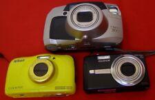 Pentax ESPIO 200 (Film Camera), Nikon CoolPix S33 & FujiFilm FinePix f480 digitale