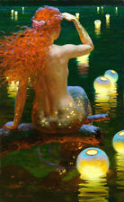 Victor nizovtsev Mermaid HD Canvas Printing Oil Painting Multisize