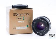 Nikon 50mm f/1.8 Ai-S Series Focale Fissa E-Boxed Giappone - 2508419