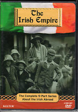 NEW Irish Empire: The Complete 5 Part Series About the Irish Abroad (DVD) NEW