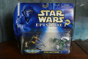 Star Wars Micro Machines Episode 1 Collection 1 Damaged Package