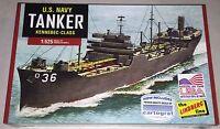 Lindberg WWII US Navy Tanker 1/520 ship model kit new 438