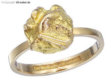 """Lapponia Ring """"Nugget"""" 585er Gelbgold"""