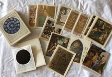 Vintage Religious Christmas Greeting Cards with Envelopes in Box 13 Sacred Art