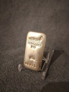 Umicore silver bar 250g finest 999