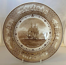 WEDGWOOD AMERICAN CLIPPER SHIP COLLECTABLE PLATE 'STAG HOUND' 23 cms
