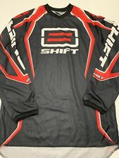Shift Racing Jersey Size Small Black & Red Motocross Assault Excellent