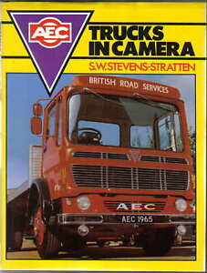 AEC Trucks in Camera Commercial Fire Engine Military Construction Vehicles