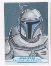 2017 Star Wars Galactic Files Reborn sketch card Brian Jackson (b)