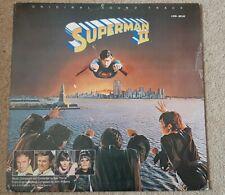 SUPERMAN II SOUNDTRACK VINYL LP - JOHN WILLIAMS - KEN THORNE - WARNER LWB 6026