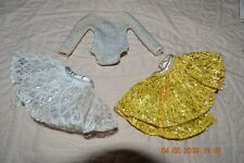 Vintage Barbie Ballerina Body Suit and 2 skirts