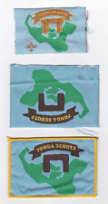 SCOUTS OF TONGA - OFFICIAL SCOUT EMBLEM PATCH (3 VAR.)