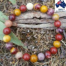 MOOKAITE Australian Jasper Natural Gemstone Bracelet Chakra Crystal Healing Bead