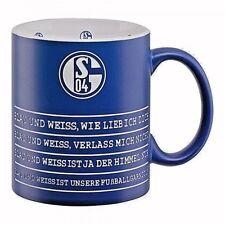 FC Schalke 04 S04 Kaffeebecher Kaffeetasse Mug Hymne