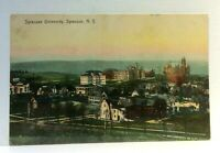 Syracuse New York Syracuse University Vintage Postcard