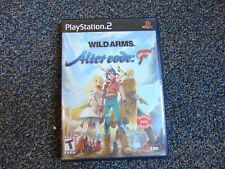 Wild Arms: Alter Code F (Sony PlayStation 2, 2005) w/Anime DVD NO manual