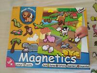 GRANJA MAGIC MAGNET PIEZAS MAGNETICAS ANIMALES JUGUETE INFANTIL CON TABLERO