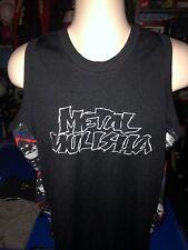 Men's Metal Mulisha Sleeveless Mesh Jersey Tank Top Shirt Black XL