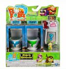 FLUSH FORCE Bizarre Bathroom With 8 Flushies 2 Clogged Toilets Series 1 Flush