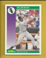 Bo Jackson 1992 Score Card # 361 Chicago White Sox Baseball MLB