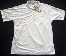 ETIREL Herren Tennistrikot Polo-Shirt / Weiß / NEU