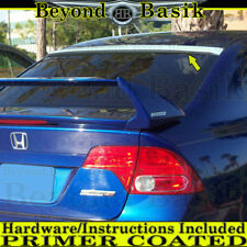 2006-2011 HONDA CIVIC 4Dr Sedan Rear ROOF Spoiler Wing Tail PRIMER