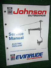 JOHNSON EVINRUDE 1990 12V 24V BOW MOUNT TRANSOM ELECTRIC OUTBOARD SERVICE MANUAL