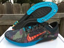 Men's Nike Victory Racing XC 3 Camo Track X Country Shoes Size 12.5 654693-084