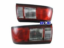 For Nissan Sentra Tsuru B13 LB13 331 1991-1994 Tail Lights Rear Lamps Red/Clear
