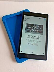 "Amazon Kindle Fire HD 8 6th Gen. (PR53DC) 8"" Tablet - 16GB - Black"