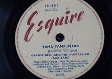 78 tr/min GRAEME BELL AUSTRALIAN JAZZ BAND Yama Yama blues/Grand chef Hache de combat