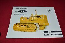 Allis Chalmers HD-11 Crawler Tractor Dealers Brochure YABE14 ver11