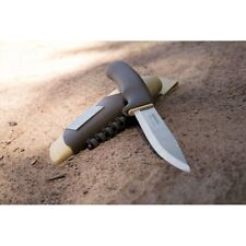 """Mora Bushcraft Survival Desert Fixed Knife 4.2"""" Stainless Blade Synthetic Handle"""