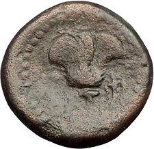 RHODES Rhodos Island off Caria HELIOS ROSE 120BC Rare Ancient Greek Coin i57543